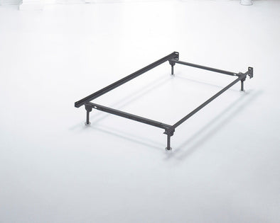 Frames And Rails - Metallic - Twin/Full Bolt on Bed Frame