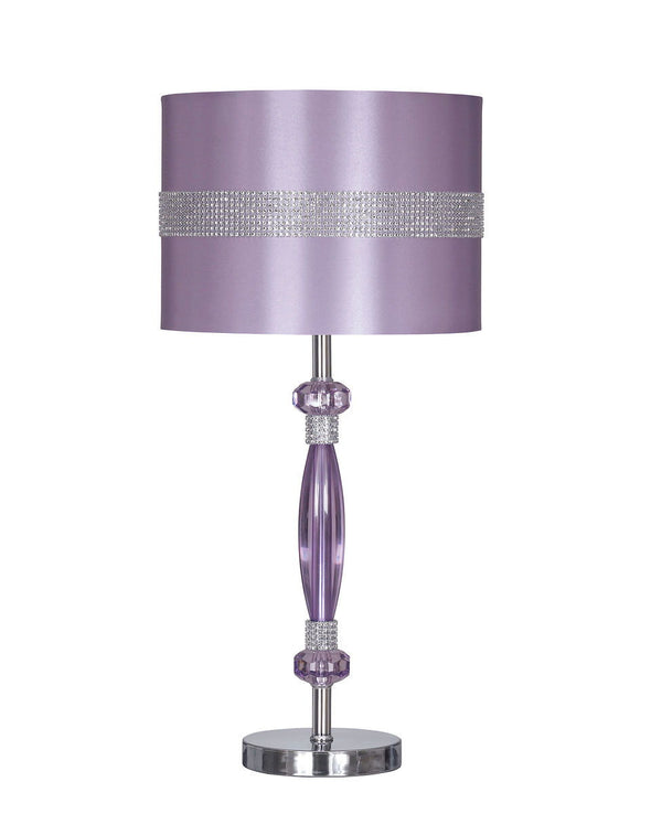 Nyssa - Purple - Metal Table Lamp (1/CN)