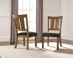 Tamilo - Dark Brown - Dining UPH Side Chair