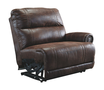 Luttrell - Espresso - RAF Zero Wall Power Recliner