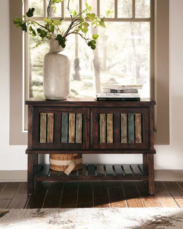 Mestler - Rustic Brown - Console