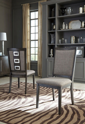 Chadoni - Gray - Dining UPH Side Chair