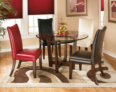 Charrell - Medium Brown - Round Dining Room Table