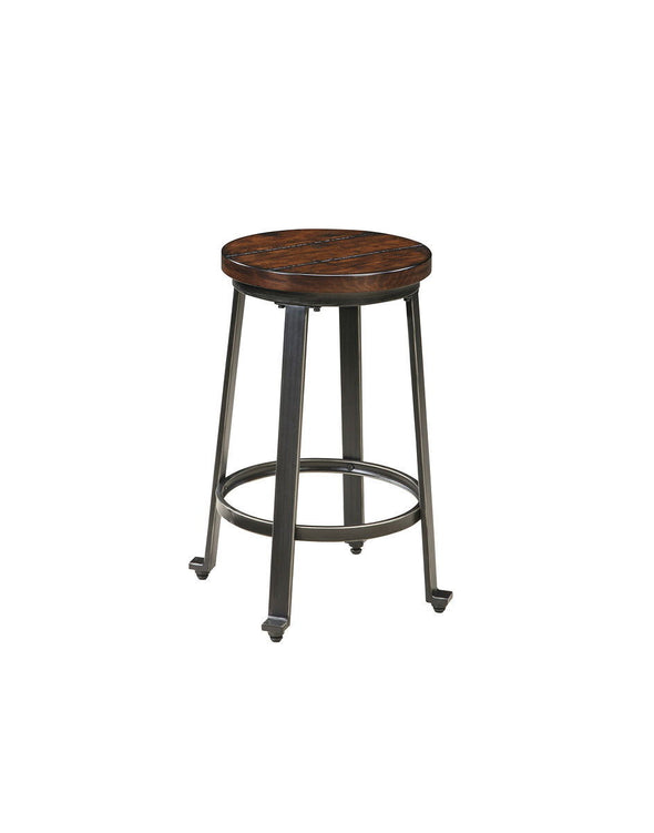 Challiman - Rustic Brown - Stool