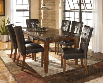 Lacey - Medium Brown - Dining UPH Side Chair