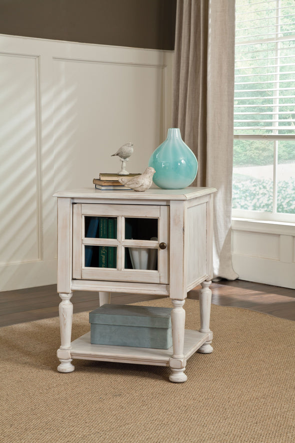Mirimyn - White - Accent Table