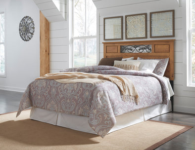 Bittersweet - Light Brown - Queen/Full Panel Headboard
