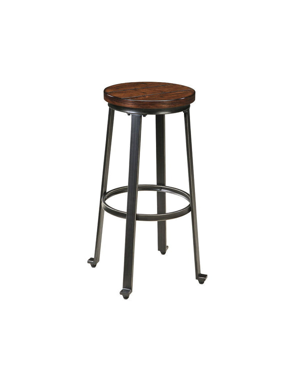 Challiman - Rustic Brown - Tall Stool
