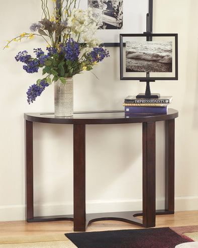 Marion - Dark Brown - Sofa Table