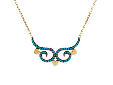 Luxxurio Art Nouveau Necklace