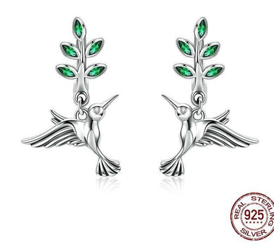 Luxxurio Hummingbird Earrings - Luxxurio