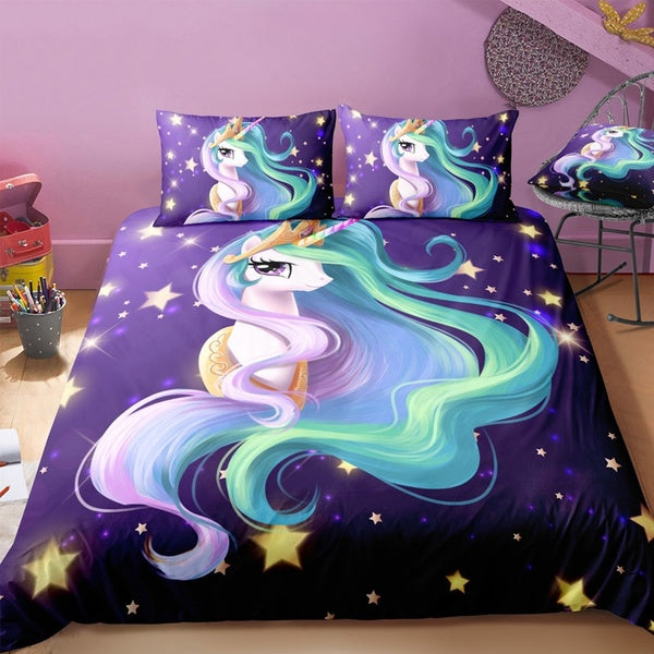 Princess Celestia (My Little Pony) Duvet and Pillowcase Set - Unicorn-Finds