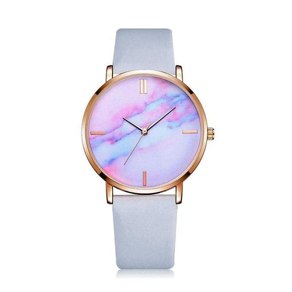 Pink Marble Face Watch - Unicorn-Finds