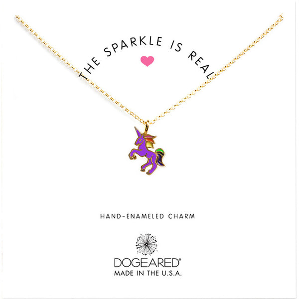 The Sparkle is Real! - Unicorn Pendant Necklace - Unicorn-Finds