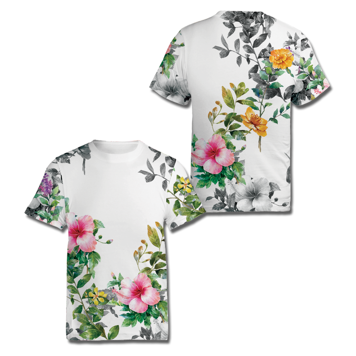 Custom Floral All Over Print Shirt
