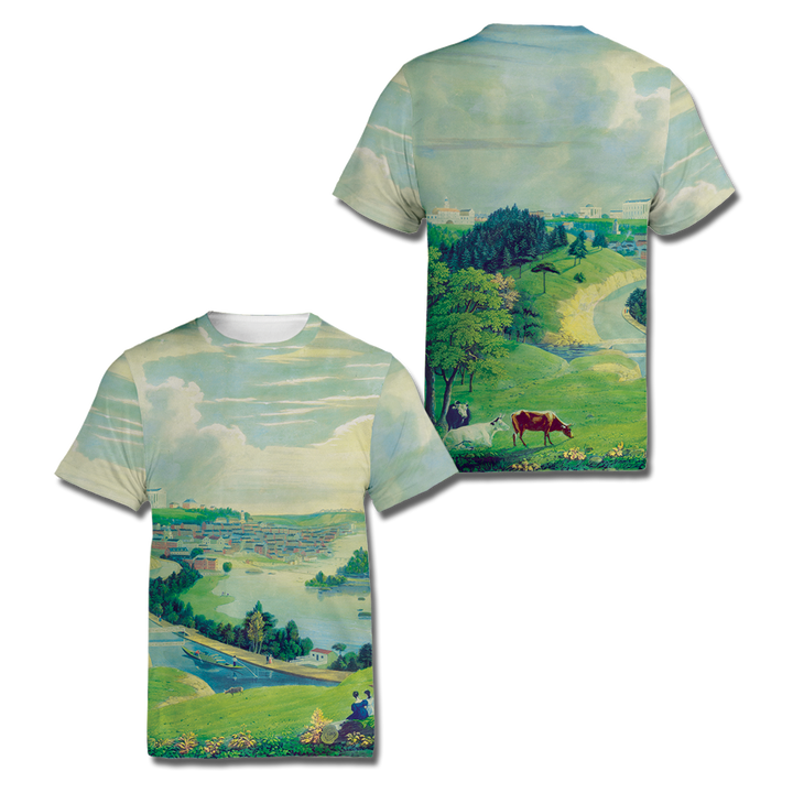 Custom History Scene All Over Print Shirt