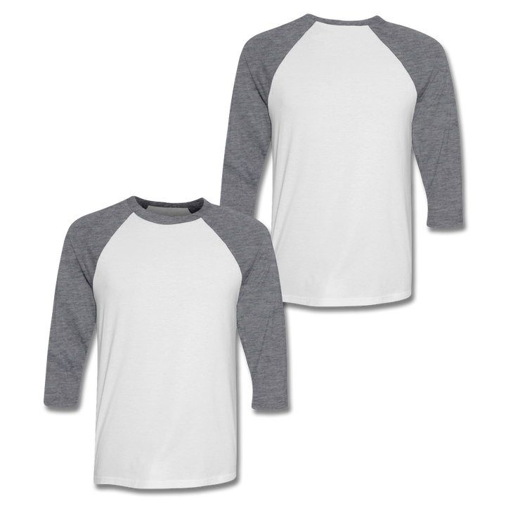 Custom Grey Baseball Shirt