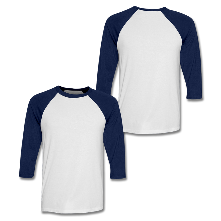 Custom Navy Baseball Shirt