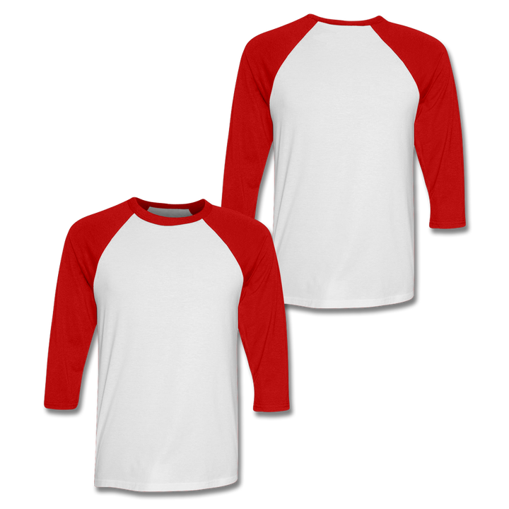 Custom Red Baseball Shirt