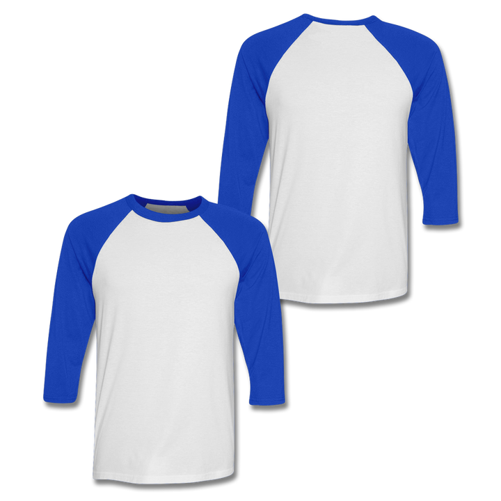 Custom Royal Blue Baseball Shirt