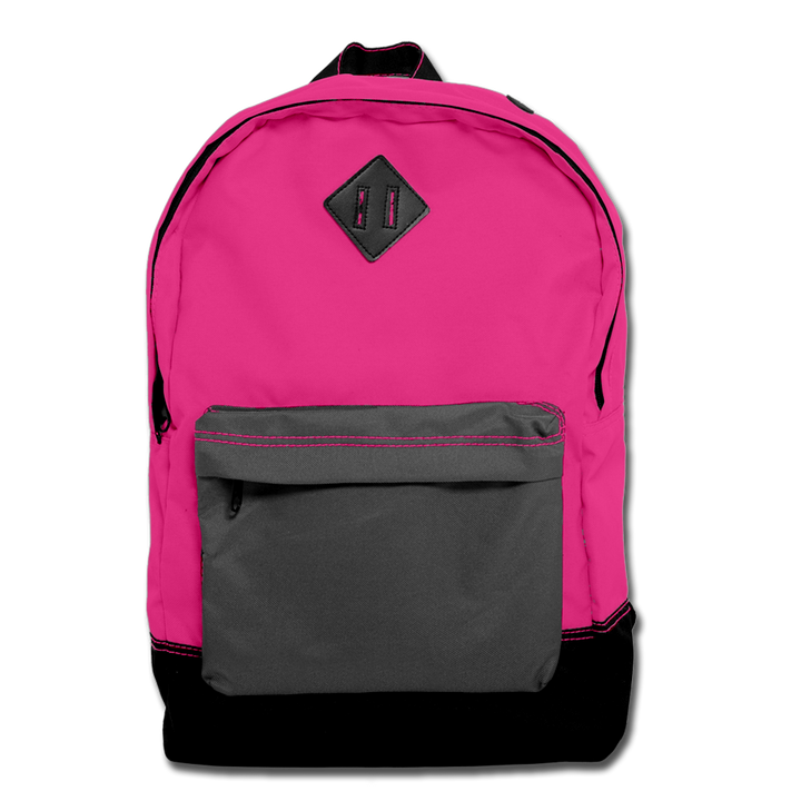 Custom Pink Backpack