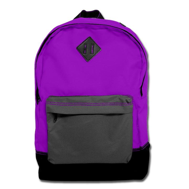 Custom Purple Backpack