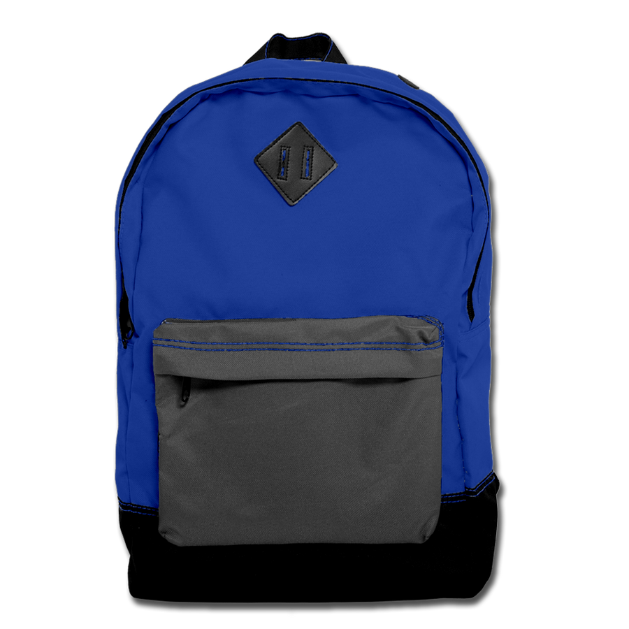 Custom Royal Blue Backpack