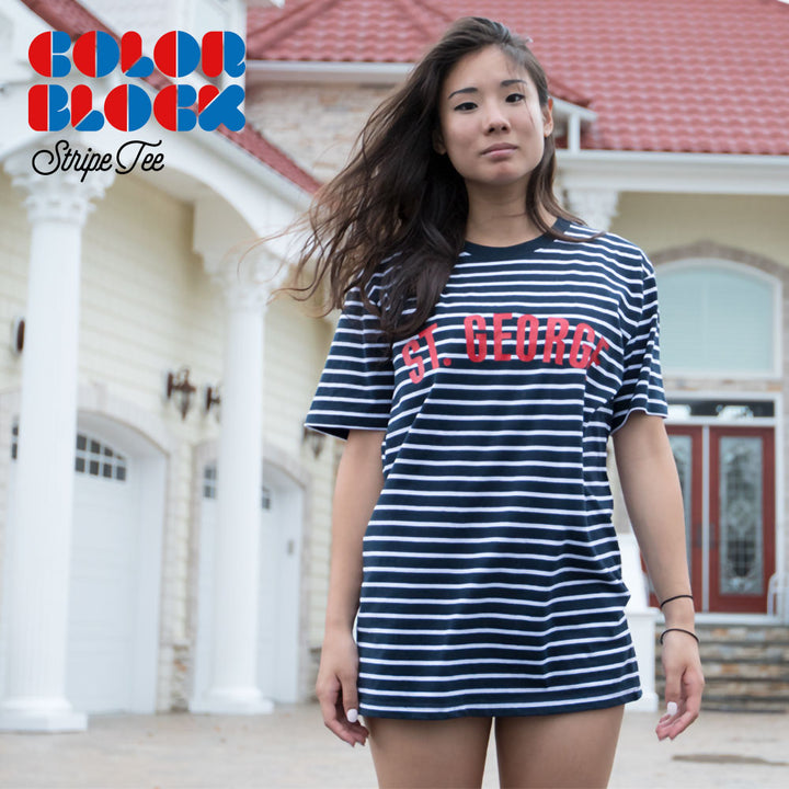 ColorBlock Stripe Tee