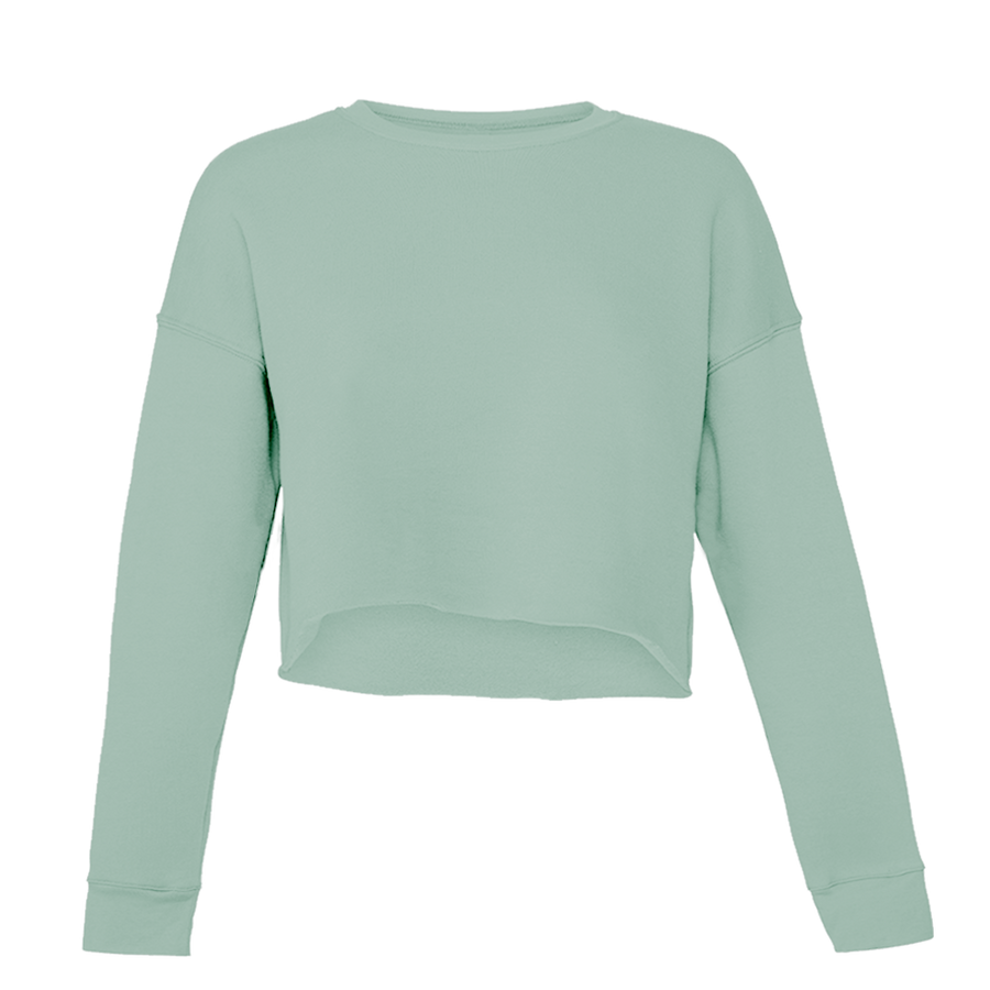 Colorfelt Crop Sweater