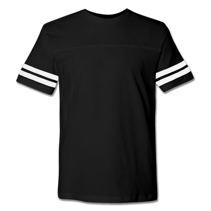 Custom Black Football Shirt