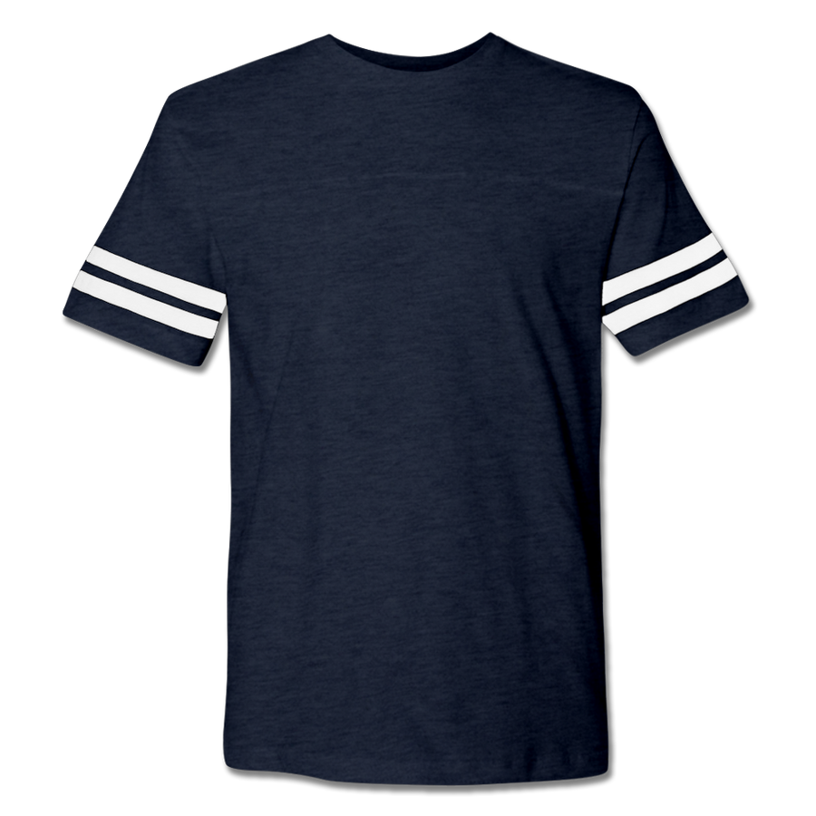Custom Navy Football Shirt