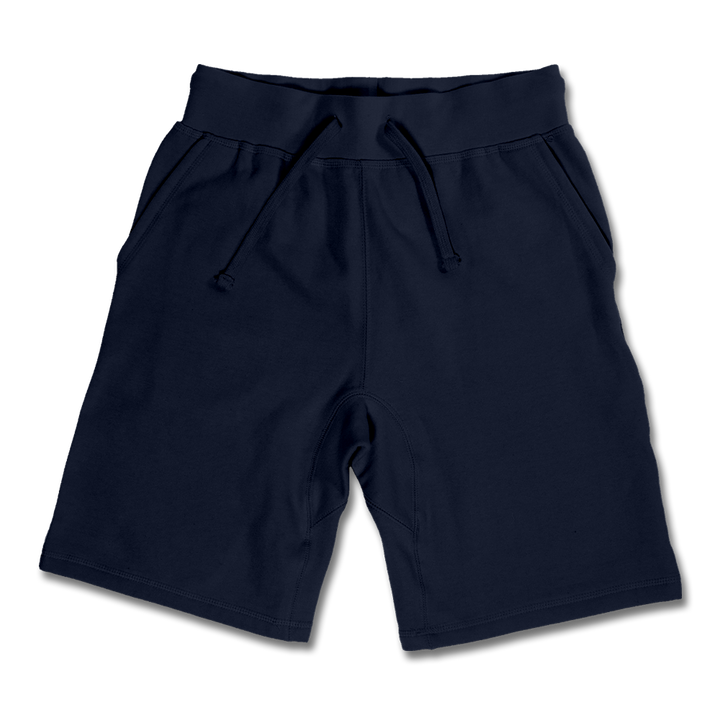 Custom Navy Jogger Shorts