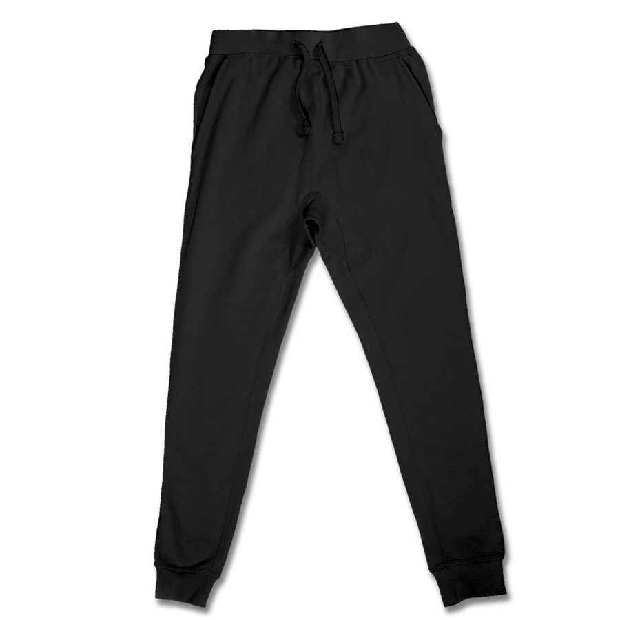Custom Black Jogger Pants