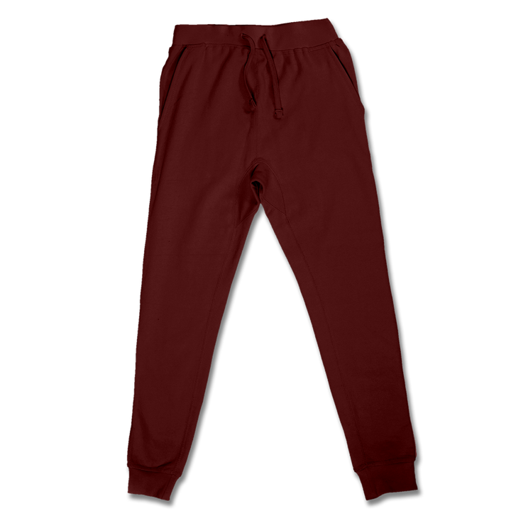 Custom Maroon Jogger Pants