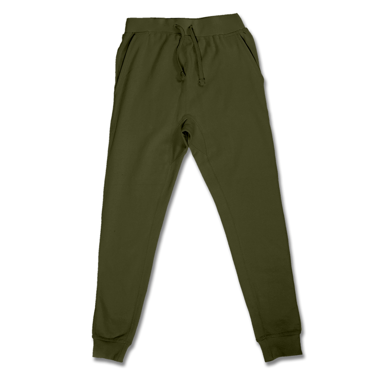 Custom Olive Green Jogger Pants