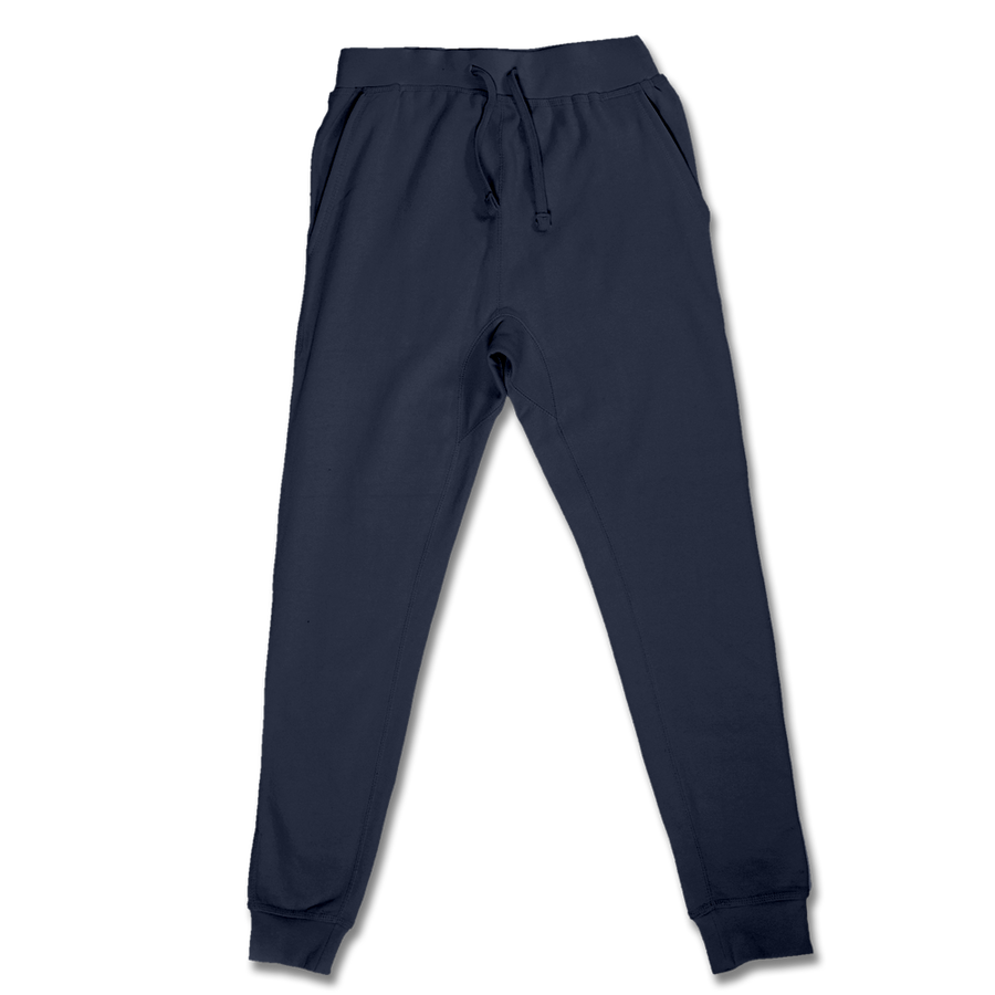 Custom Navy Jogger Pants