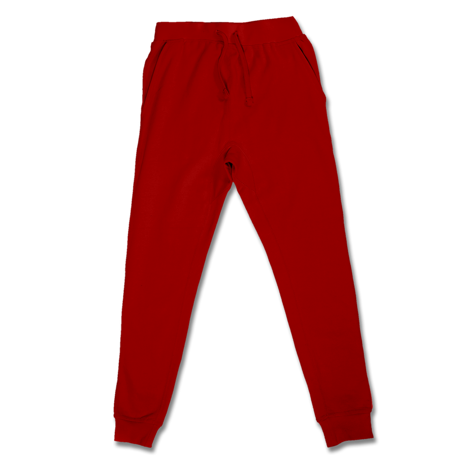Custom Red Jogger Pants