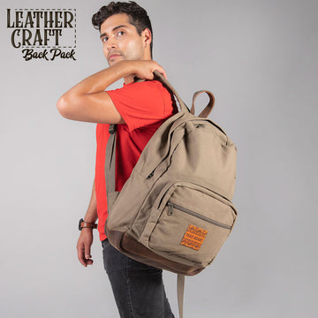 LeatherCraft Backpack