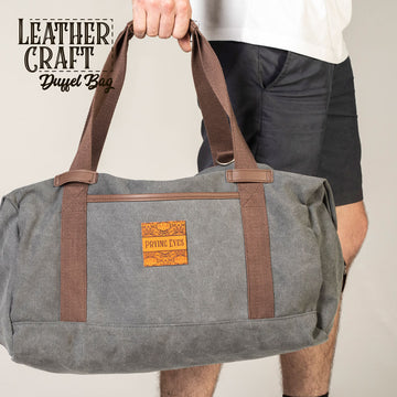 LeatherCraft Duffel Bag