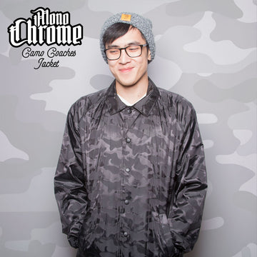 MonoChrome Camo Coaches Jacket