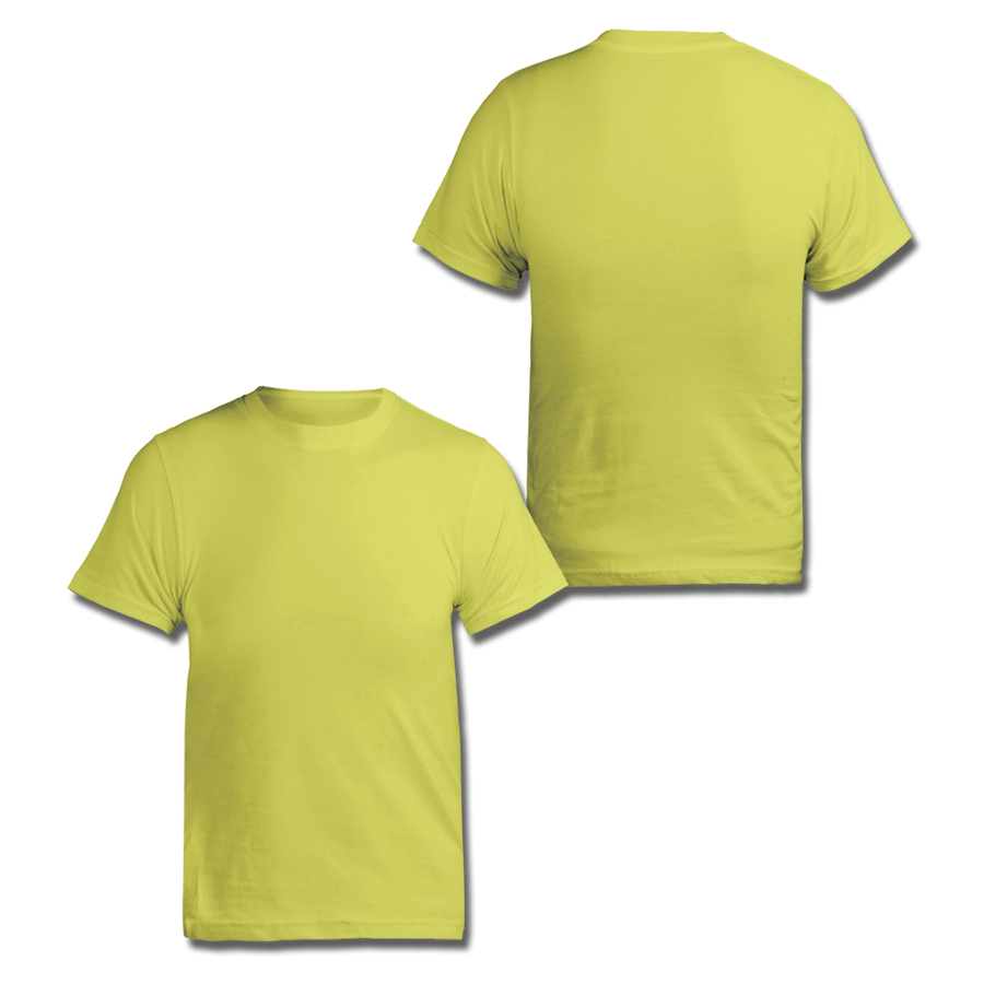 Custom Neon Yellow Tee