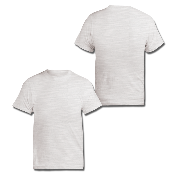 Custom White Slub Tee