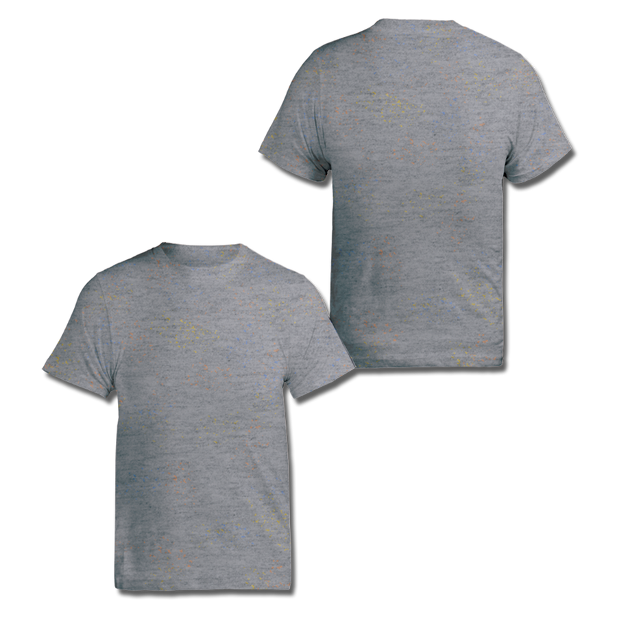 Custom Grey Speckle Tee
