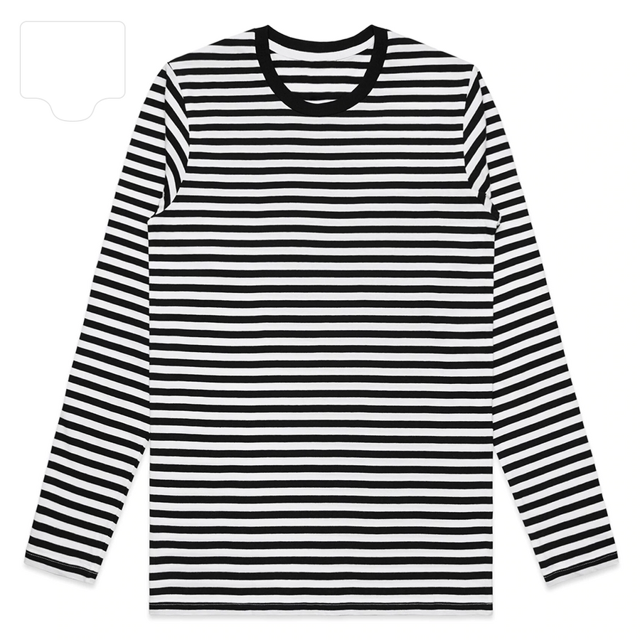 ColorBlock Stripe Long Sleeve Tee