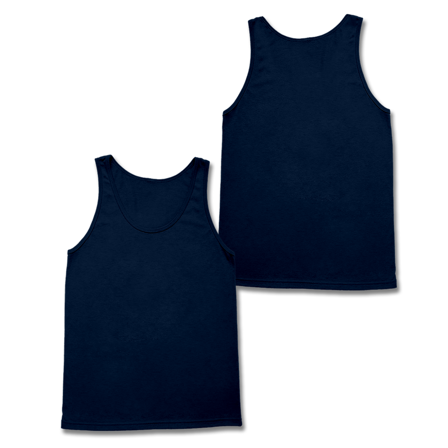 Custom Navy Tank Top