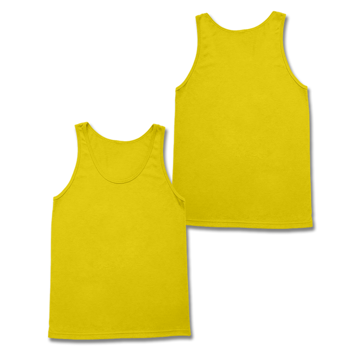 Custom Yellow Tank Top