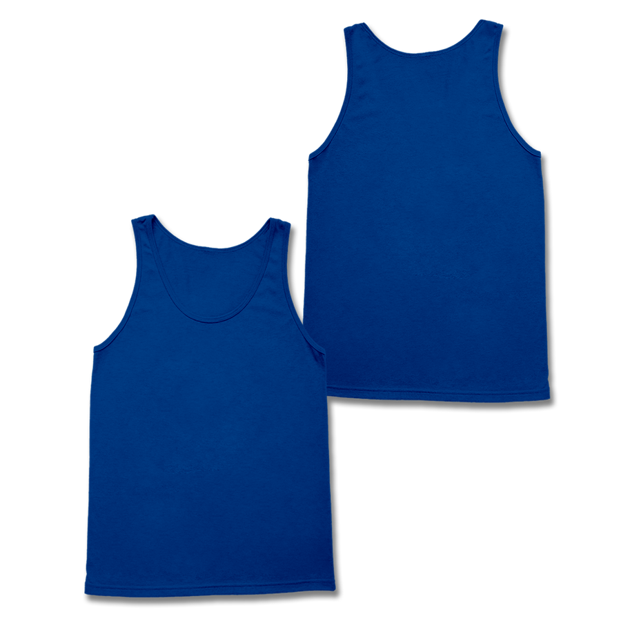 Custom Royal Blue Tank Top