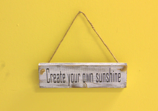 Create Your Own Sunshine - inndi