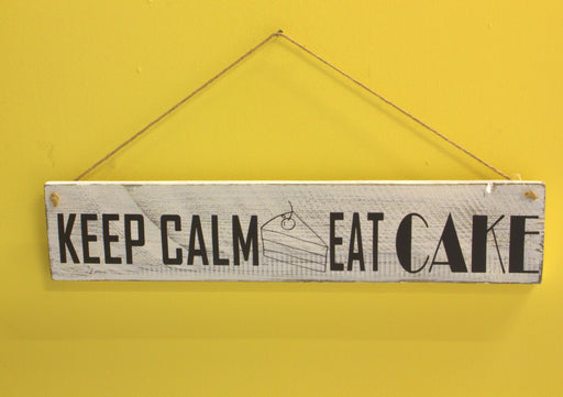 Keep Calm And Eat Cake - inndi