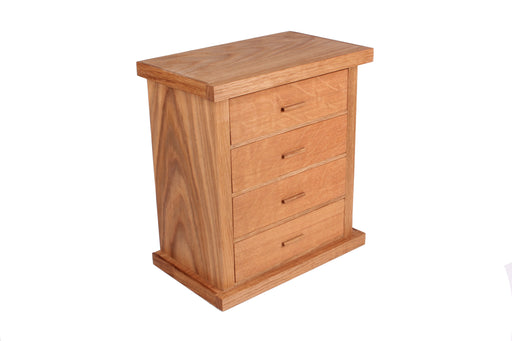 Draw Oak Jewellery Box - inndi